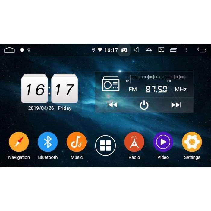 "Radio Navegador GPS Android para Peugeot 2008 (10,2"")"