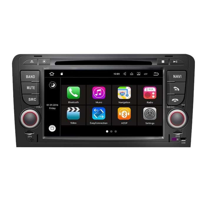 """Radio DVD Navegador Modelo S200 Android paraAudi A3 (7"""")"""