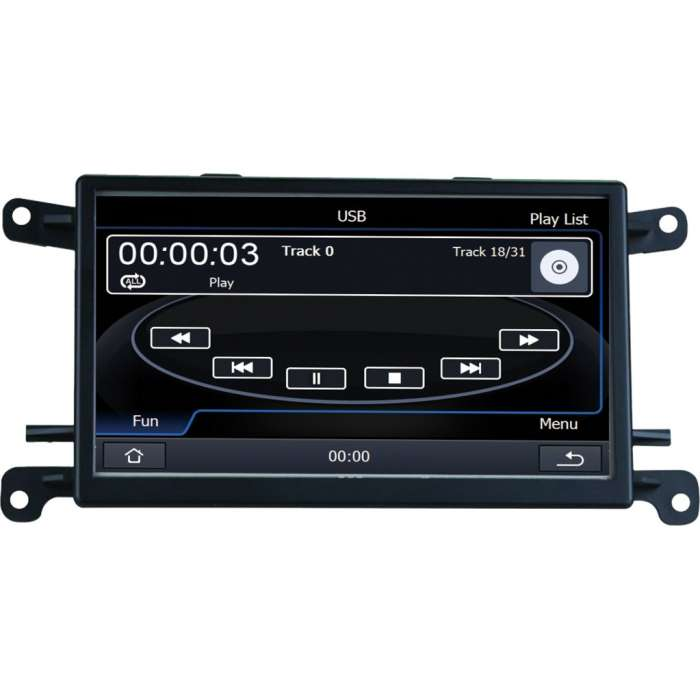 """Radio DVD Navegador WinCE para Audi A4 B8 / A5 (7"""")"""