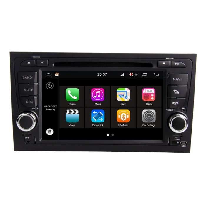 """Radio DVD Navegador Modelo S200 Android paraAudi A4 (7"""")"""