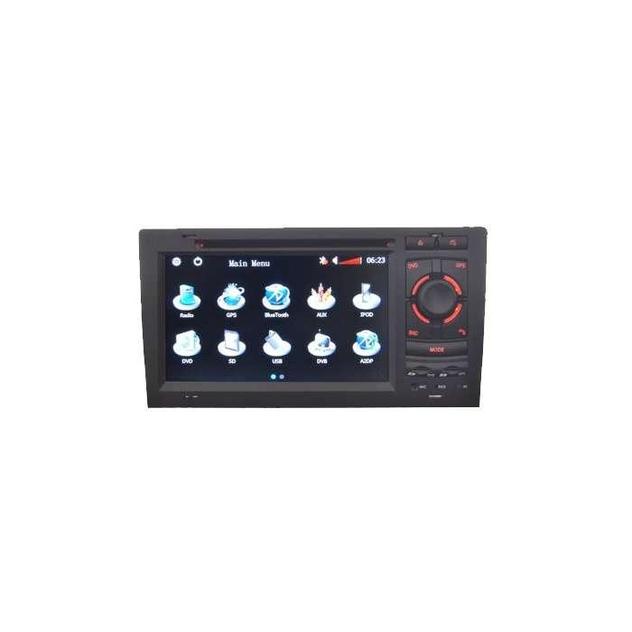 """Radio DVD Navegador GPS Android para Audi A8 (7"""")"""