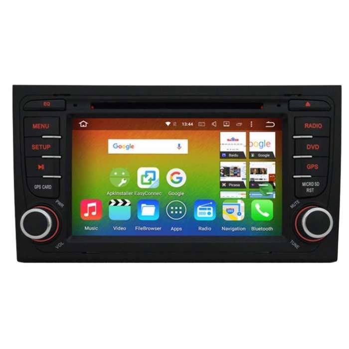 """Radio DVD Navegador GPS Android para Audi A4 (7"""")"""