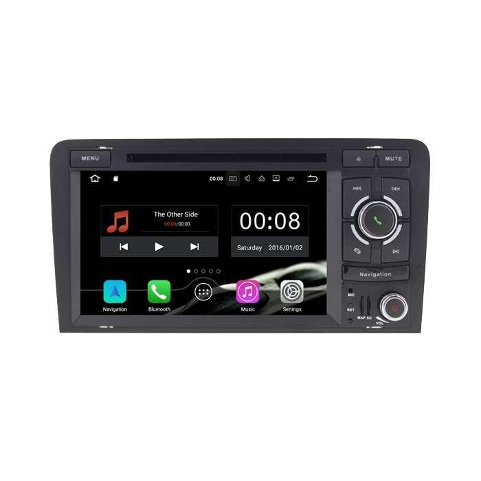 "Radio DVD Navegador Android para Audi A3 (7"")"