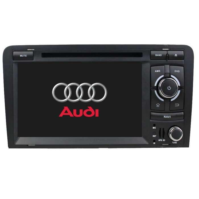 """Radio DVD Navegador GPS Android para Audi A3 (7"""")"""