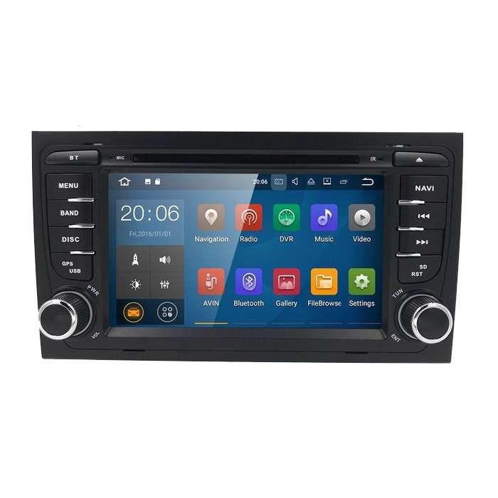 "Radio DVD Navegador Android 9.0 para Audi A4 (7"")"