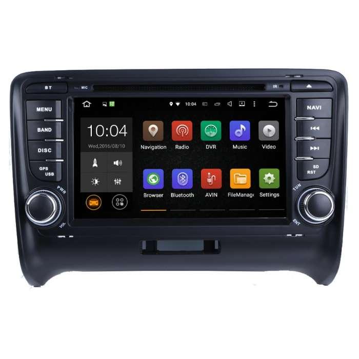 """Radio DVD Navegador Android 9.0 para Audi TT (7"""")"""