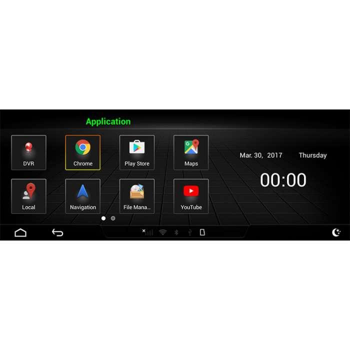 """Radio Navegador GPS Android para Audi A6 (10,25"""")"""