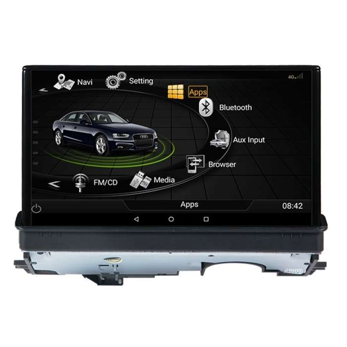 "Radio Navegador GPS Android Pantalla Motorizada paraAudi A3 (7"")"