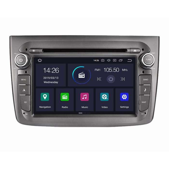 "Radio DVD Navegador GPS Android para Alfa Romeo Mito (7"")"