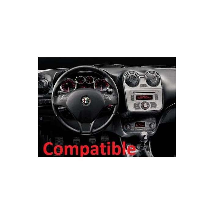 "Radio DVD Navegador GPS Android Para Alfa Romeo Mito (7"""