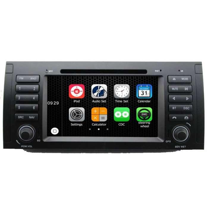 """Radio DVD Navegador Modelo S200 Android para BMW Serie 5 (7"""")"""