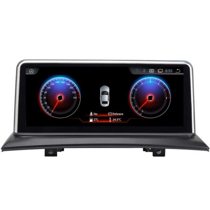 "Radio Navegador GPS Android para BMW Serie X3 (10,25"")"