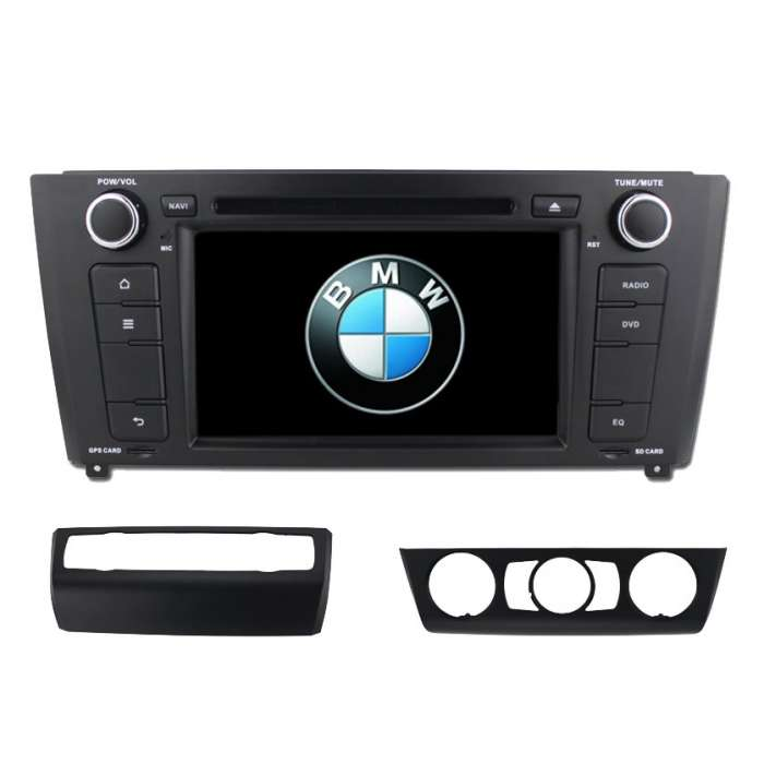 "Radio DVD Navegador GPS Android para BMW Serie 1 (7"")"