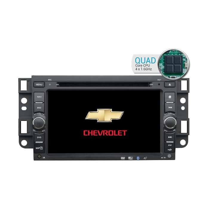 "Radio DVD Navegador GPS Android HD Quad Core para Chevrolet Aveo / Epica / Captiva (7"")"