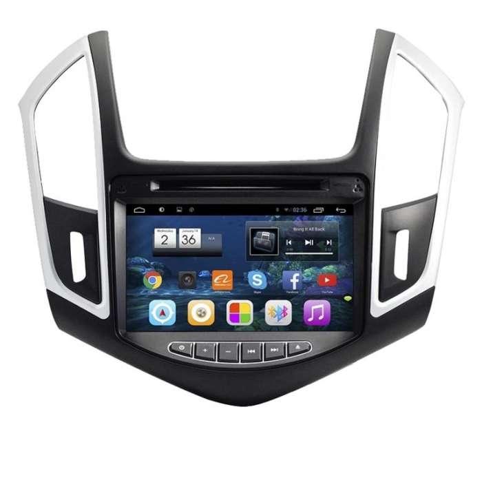 "Radio Monitor Navegador GPS HD Android Puro para Chevrolet Cruze (8"")"