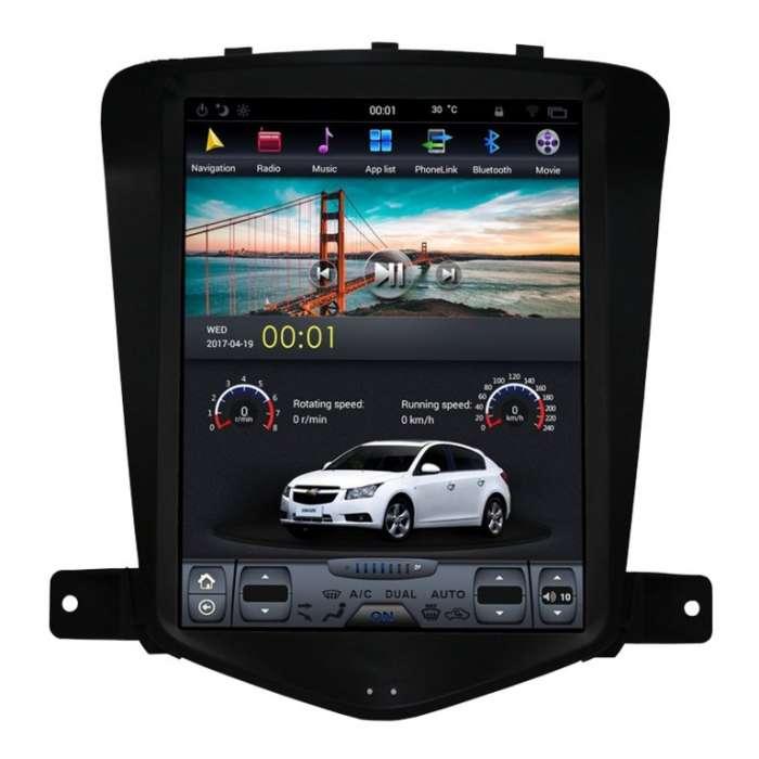 "Radio Navegador GPS Android Tipo Tesla para Chevrolet Cruze (10,4"")"