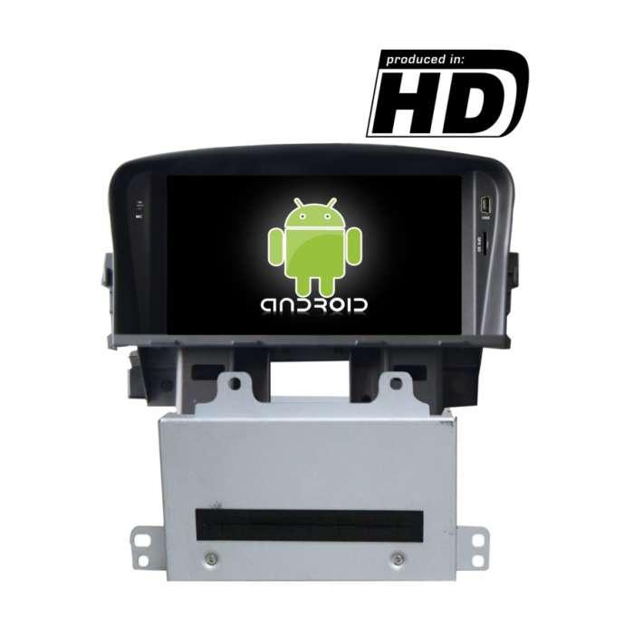 "Radio DVD Navegador GPS 4G LTE Android Puro para Chevrolet Cruze (7"")"