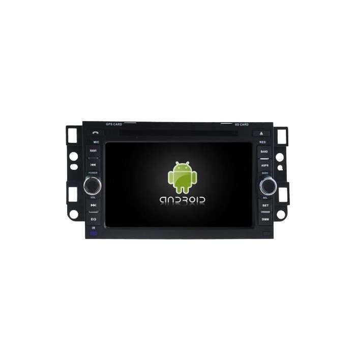 "Radio DVD Navegador GPS HD Quad Core para Chevrolet (7"")"