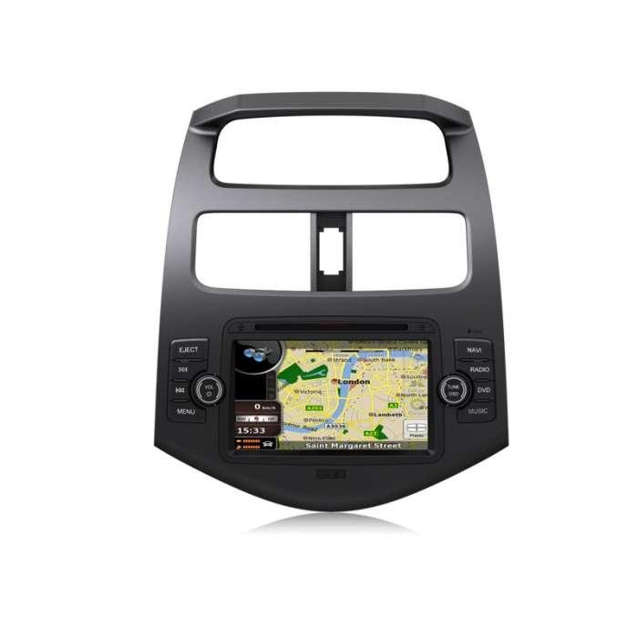 """DVD Navegador GPS TDT Bluetooth para Chevrolet Spark (7"""")"""