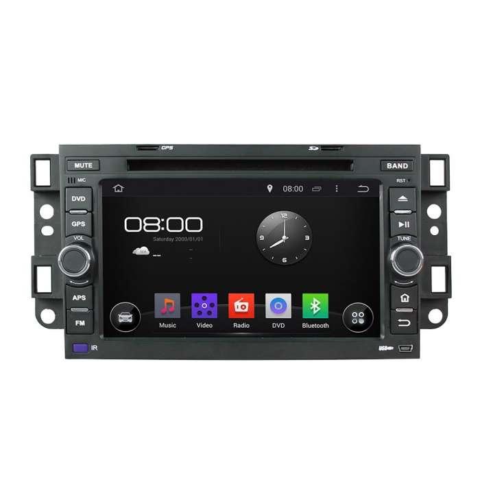 """Navegador GPS Android Octa Core para Chevrolet Aveo / Epica / Captiva (8"""")"""