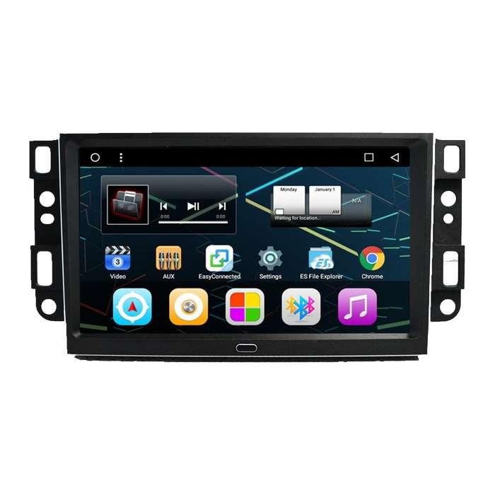 "Radio Monitor Navegador GPS HD Android Puro para Chevrolet Aveo / Epica / Captiva (9"")"