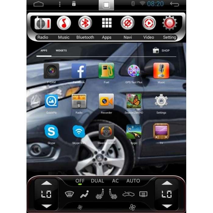 "Radio Navegador Android Tipo Tesla para Chevrolet Captiva (13,8"")"