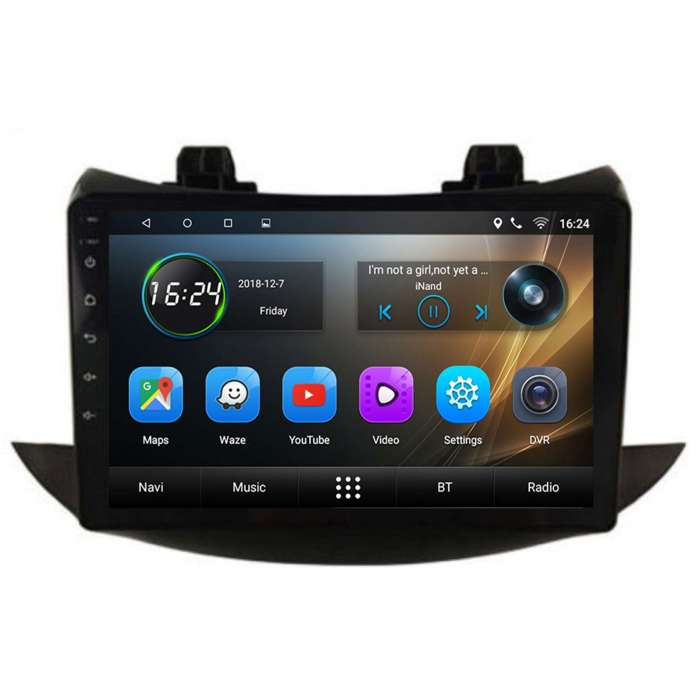 "Radio Navegador GPS Android para Chevrolet Trax (10,2"")"