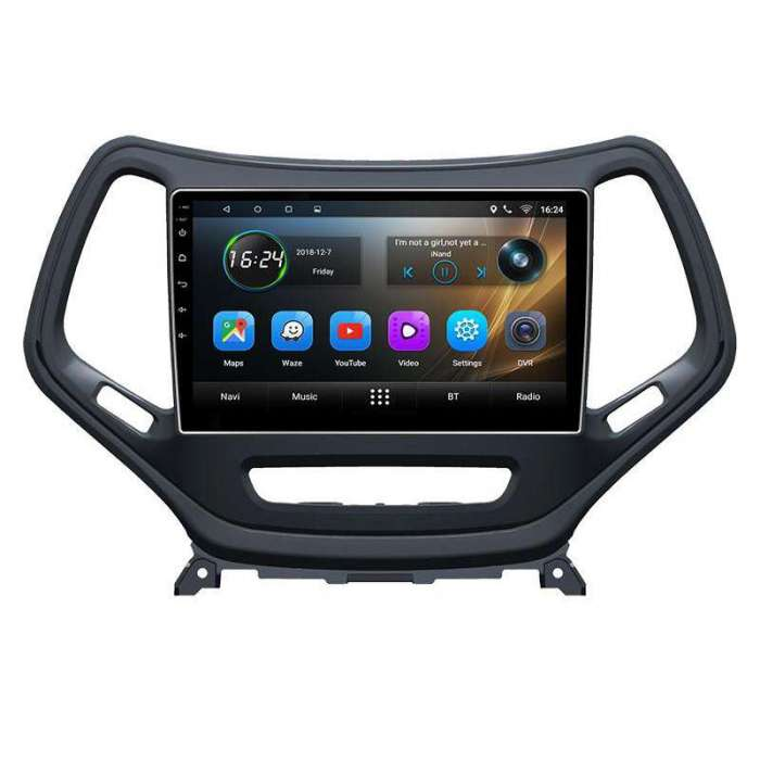 "Radio Navegador GPS Android para Jeep Cherokee (10,2"")"