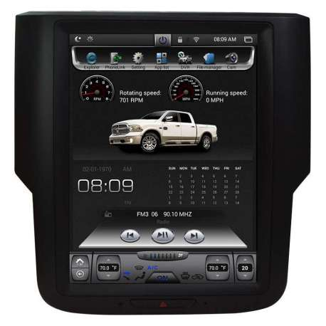 "Radio Navegador Android Tipo Tesla para Dodge RAM (10,4"")"