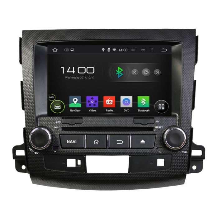 """Navegador GPS Android Octa Core 4G LTE para Mitsubishi/Citroen (7"""")"""