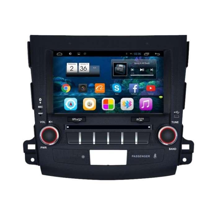"""Radio Monitor Navegador GPS HD Android Puro para Mitsubishi/Citroen (8"""")"""