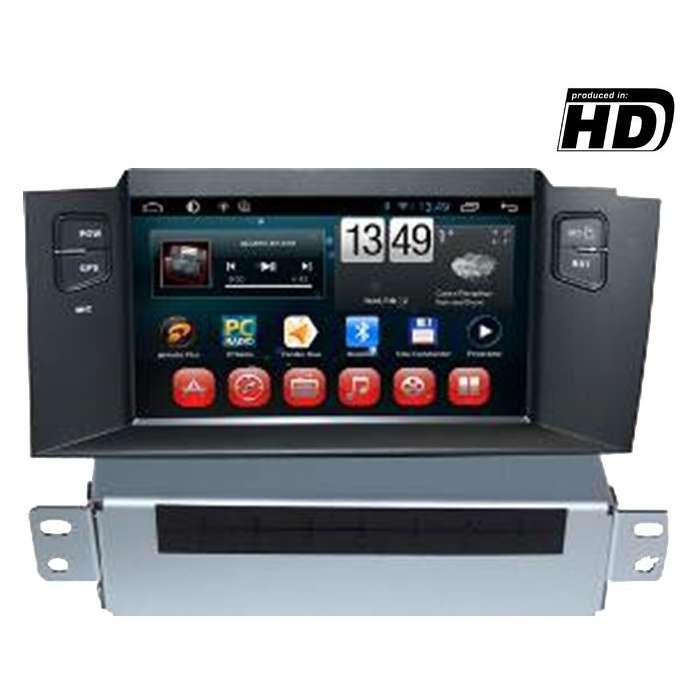 "Radio DVD Navegador GPS HD Android Puro para Citroen C4 (7"")"