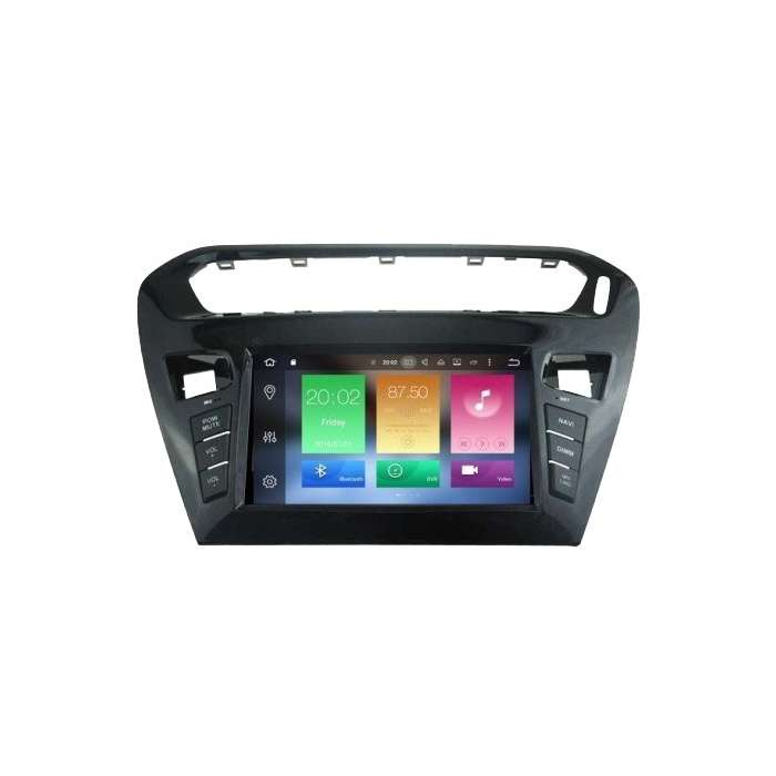 "Radio DVD Navegador GPS Android para Citroen C Elysee (8"")"