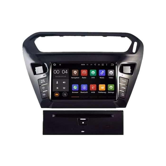 "Radio DVD Navegador GPS Octa Core 4G LTE para Citroen C-Elysee  (7"")"