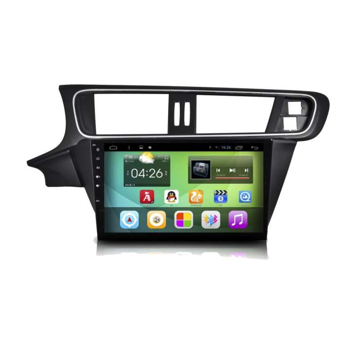 """Radio Monitor Navegador GPS HD Android Puro para Citroen C3 XR (10,2"""")"""