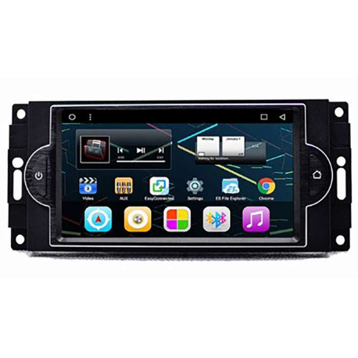 "Radio Navegador GPS Android para Dodge / Chrysler / Jeep (7"")"