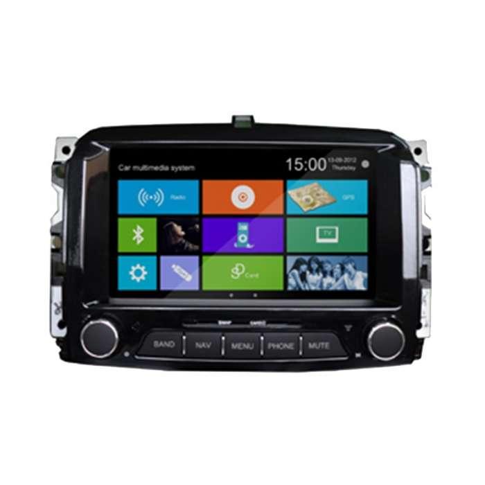 "Radio Navegador GPS Android para Fiat 500 (7"")"