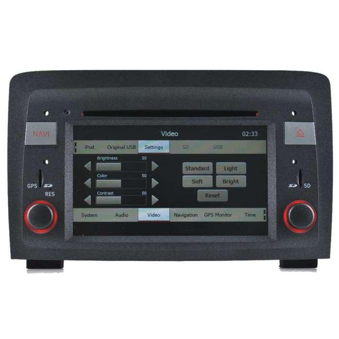 """Navegador GPS TDT Bluetooth para Fiat Croma (6,5"""")"""