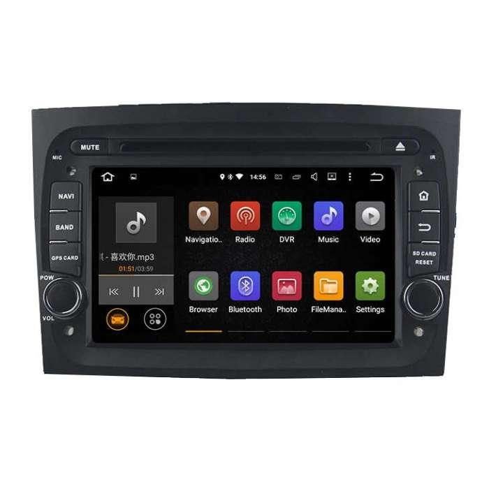 """Radio Navegador GPS Android para Fiat Doblo (7"""")"""