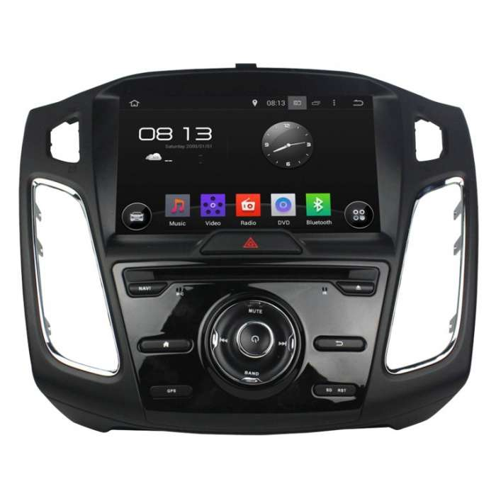 "Navegador GPS Android 10 para Ford Focus / C-Max (8"")"