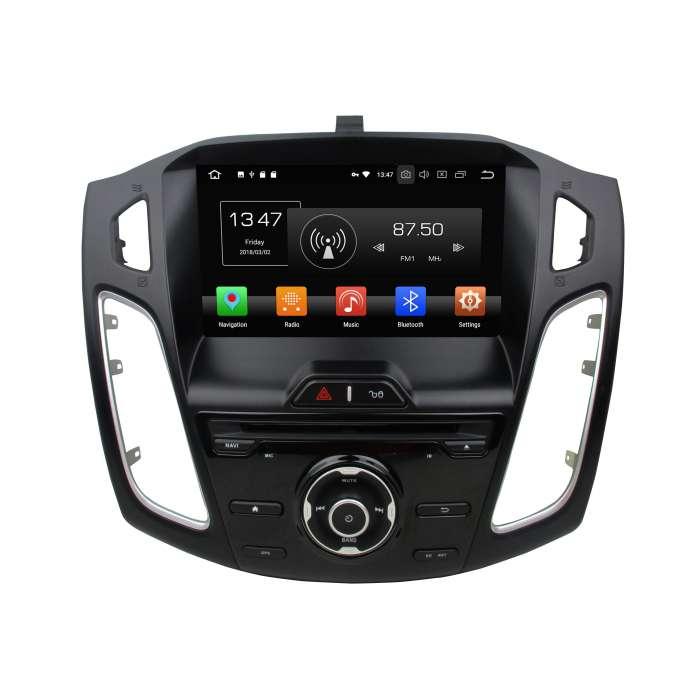 "Navegador GPS Android Octa Core 4GB RAM para Ford Focus / C-Max (8"")"