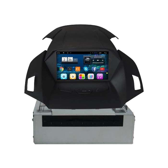 """Radio Navegador DVD GPS Android Puro para Ford Kuga (8"""")"""