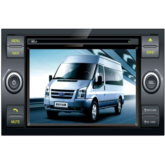 "Radio DVD Navegador GPS HD Quad Core para Ford (7"")"