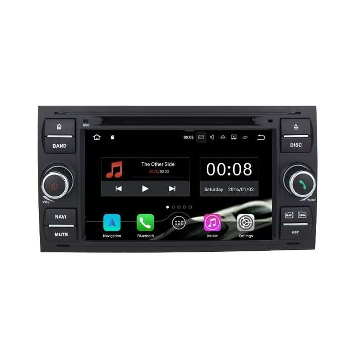 "Radio DVD Navegador GPS 4G LTE Android para Ford (7"")"