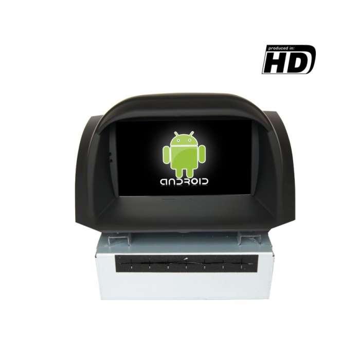 """Radio DVD Navegador GPS HD Android Puro para Ford Fiesta (7"""")"""