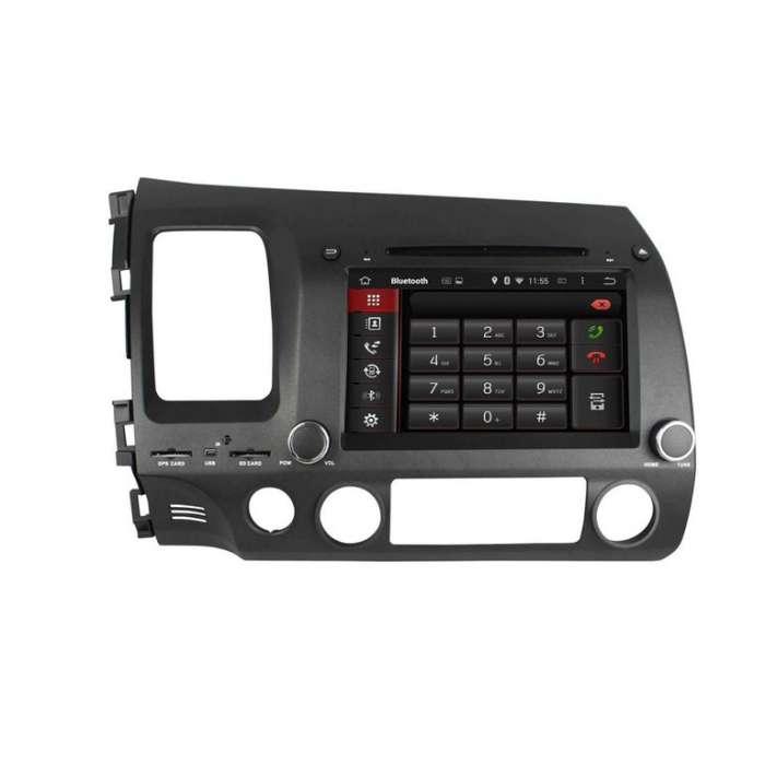 """Radio DVD Navegador GPS Android para Honda Civic (8"""")"""