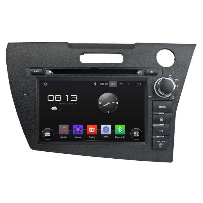 "Radio DVD Navegador GPS Android para Honda CRZ (8"")"