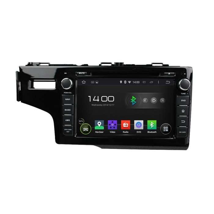 """Radio DVD Navegador GPS Android para Honda Fit (8"""")"""