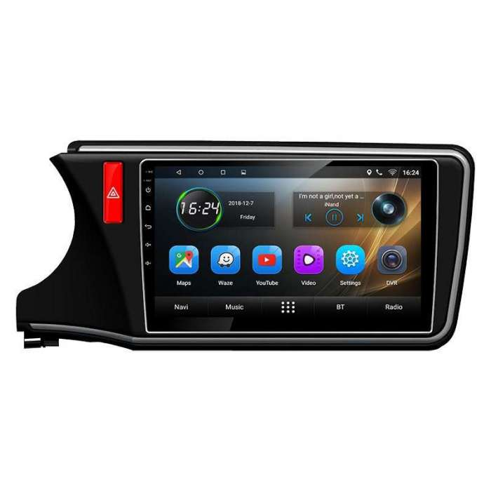 "Radio Navegador GPS Android para City (10,2"")"
