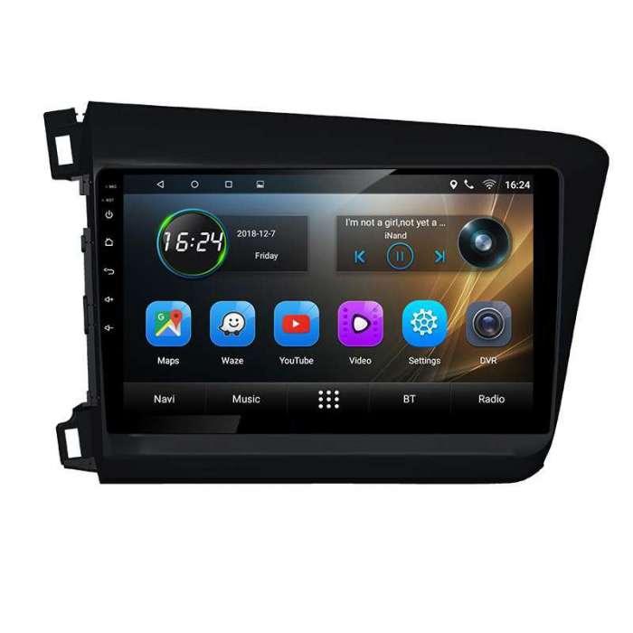 """Radio Navegador GPS Android para Accord Civic (9"""")"""